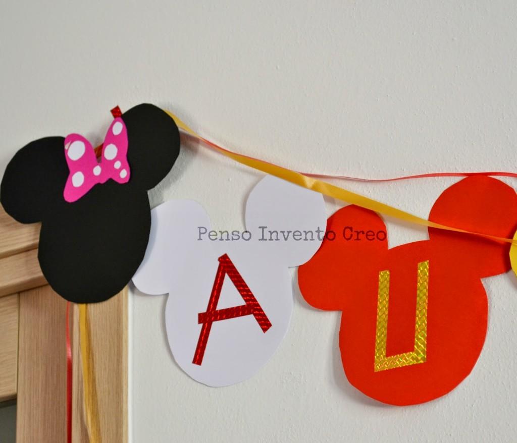 Organizzare una Festa di Compleanno per bambini a tema Topolino ...