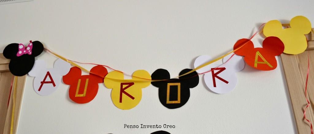 Molto Organizzare una Festa di Compleanno per bambini a tema Topolino  DT03