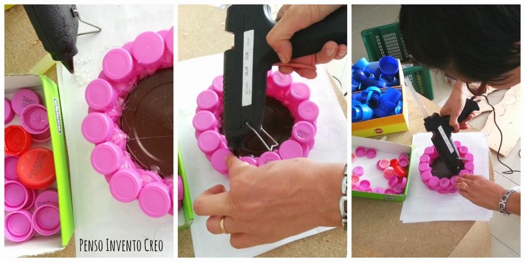 Conosciuto Barattoli colorati fatti con tappi di plastica - Penso Invento Creo RA36