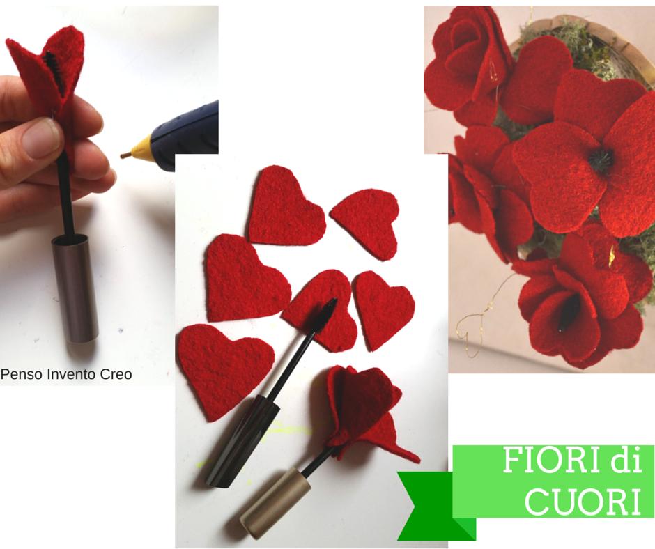 San valentino decorazione per la tavola fai da te fiori - Decorazioni san valentino fai da te ...