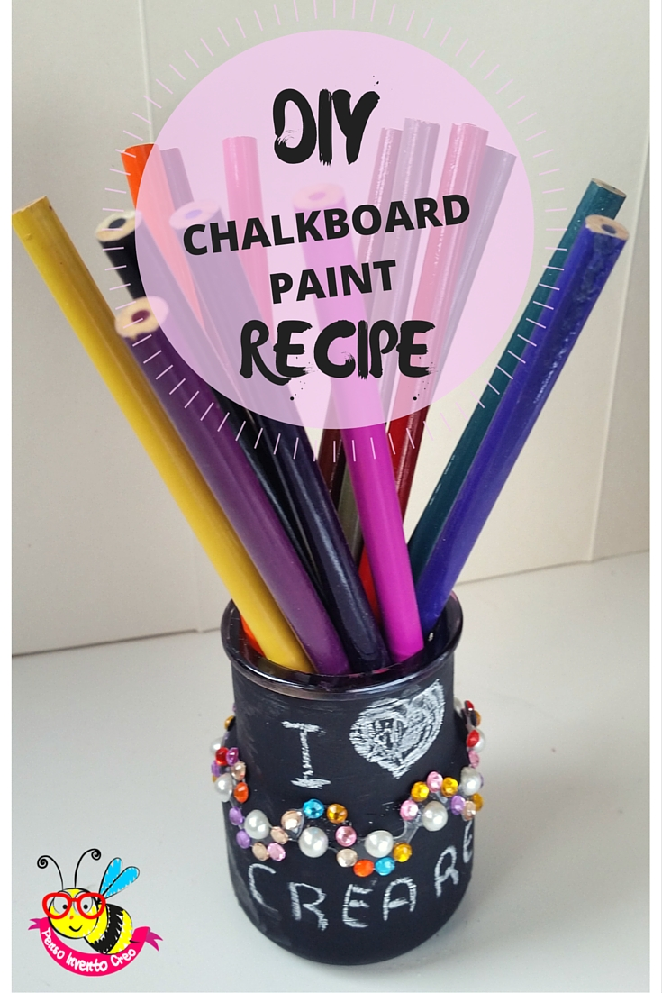 Chalk Paint Pencil Holder