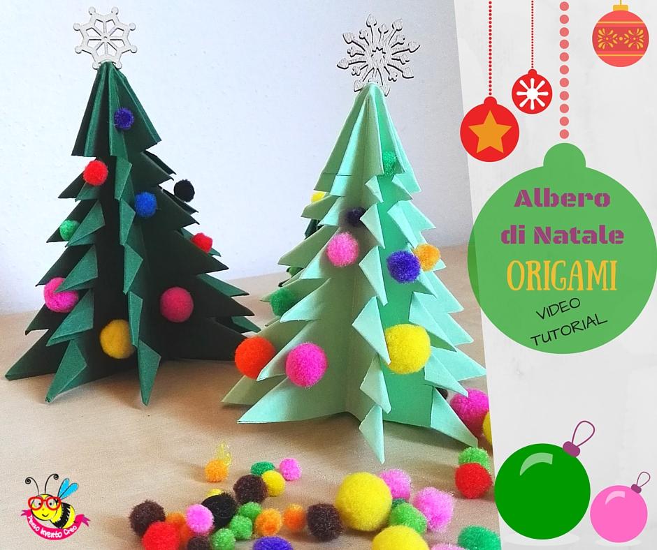 Alberi Di Natale Di Carta.Albero Di Natale Origami
