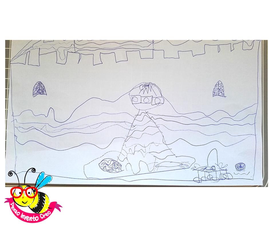 disegno di bambina