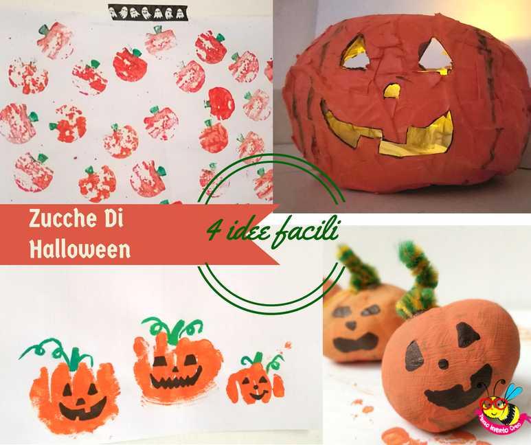 Zucca Halloween Cartapesta.Zucche Di Halloween 4 Modi Per Disegnarle Penso Invento Creo