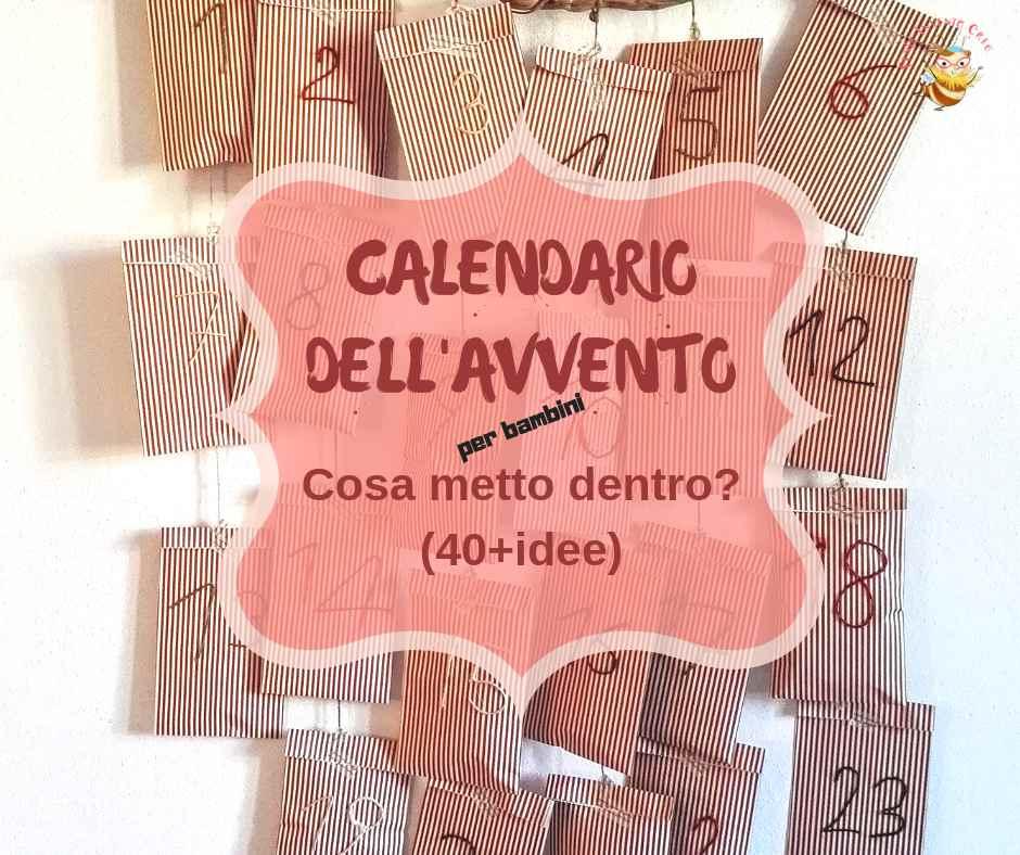 calendario dell'Avvento idee