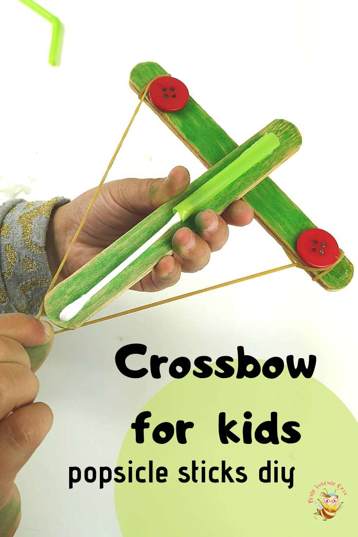 balestra per bambini - crossbow popcicle diy for kids