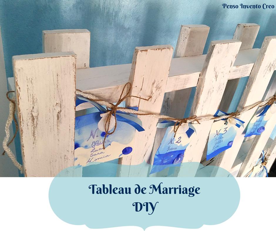 Preferenza Tableau Matrimonio fai date a costo zero - Penso Invento Creo EE31