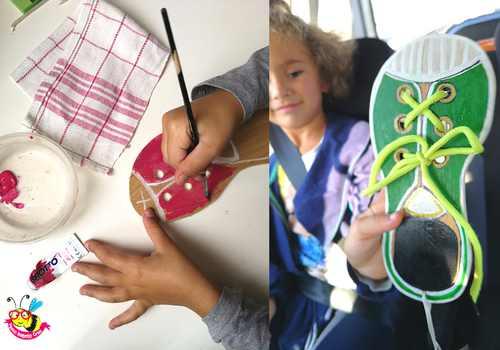 imparare ad allacciare le scarpe