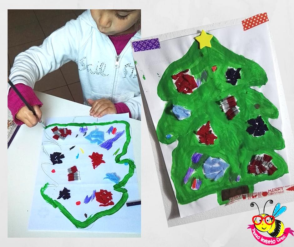 albero di Natale collage