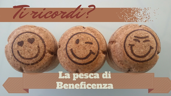 Tappi di sughero con emoticon per la pesca di beneficenza in legno