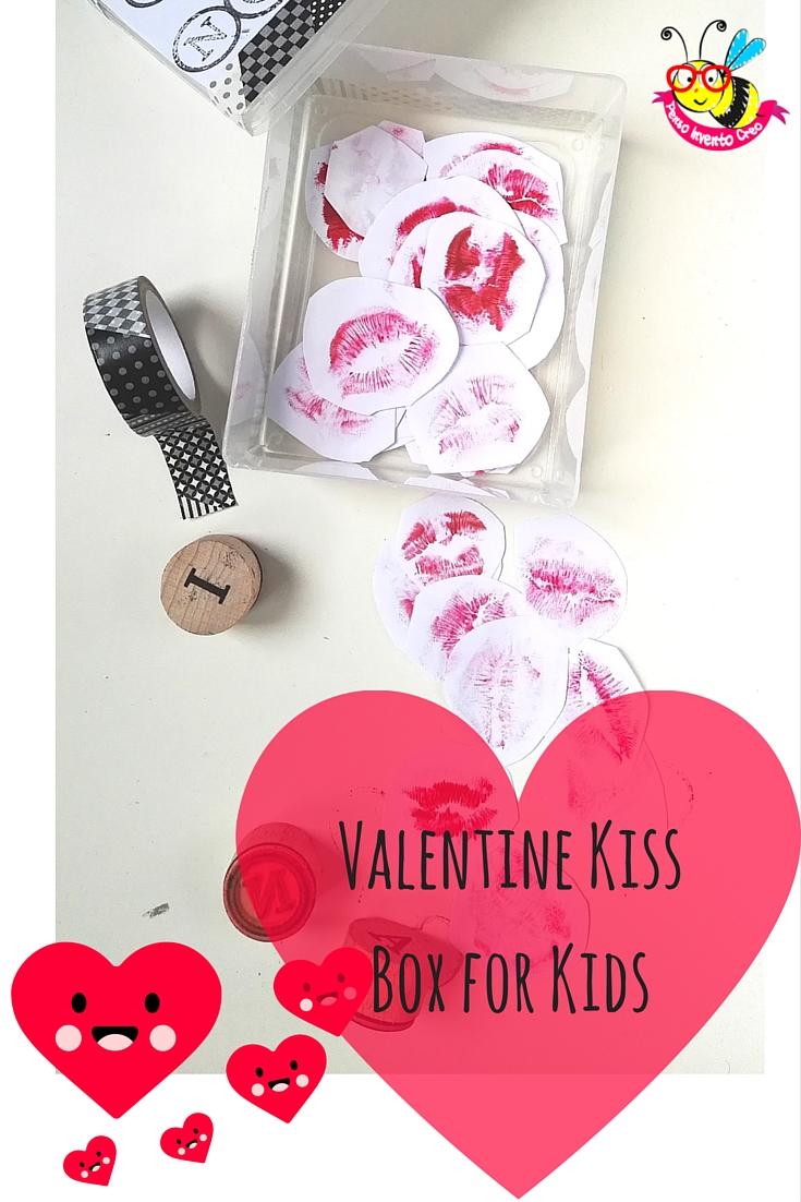 Valentine Kiss Box for Kids
