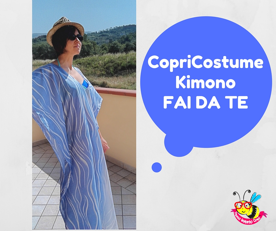 copricostume da donna a kimono