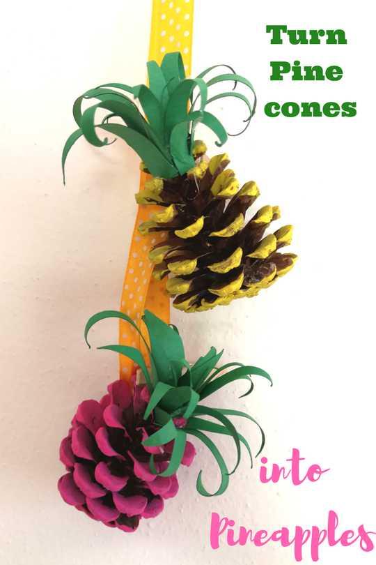 pinecone pineapple
