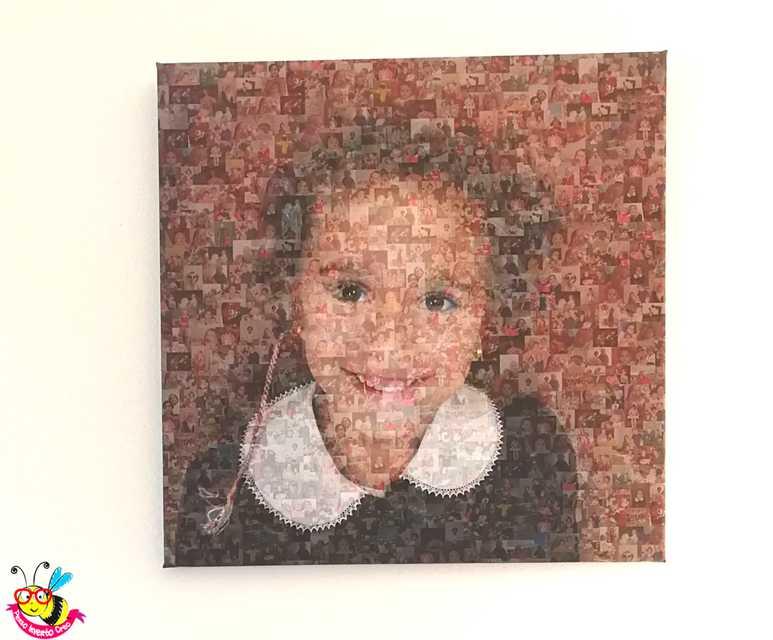 foto mosaico