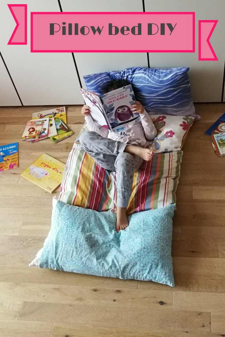 letto di cuscini