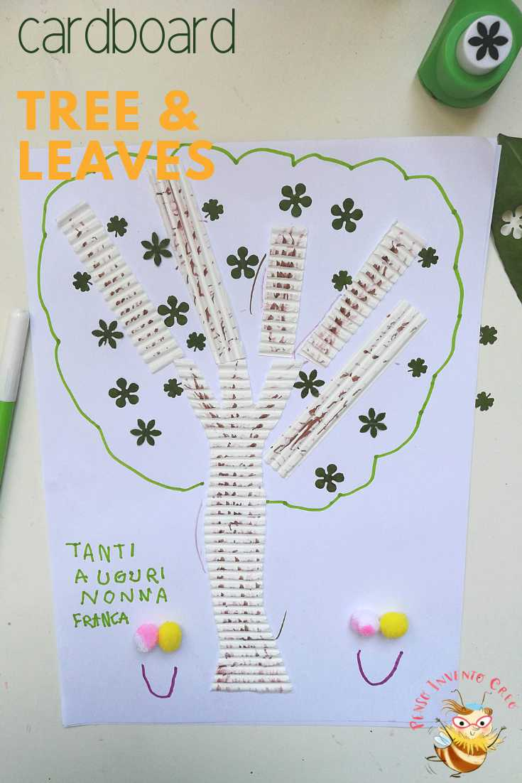 alberi di cartone