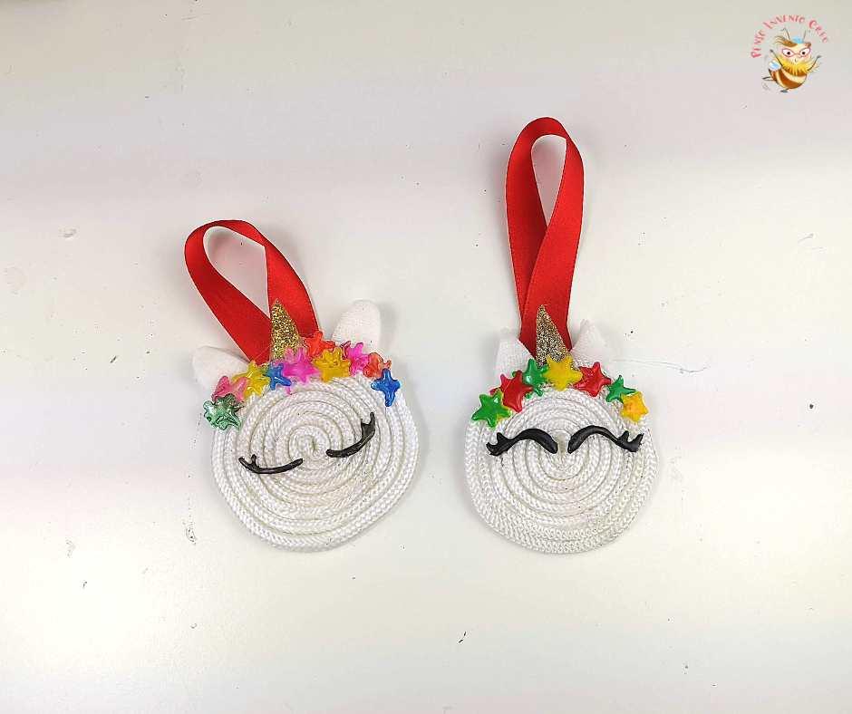 unicorno decorazione di Natale