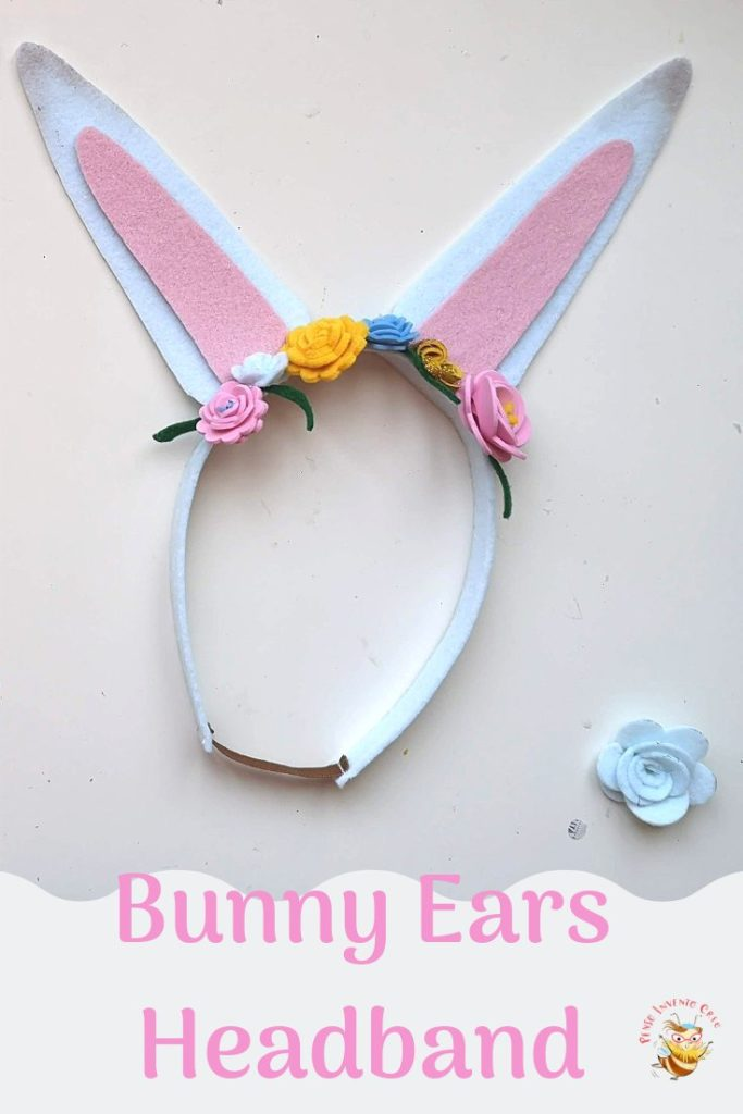 Bunny Ears Headband Easter Bunny Ears Flower Headband