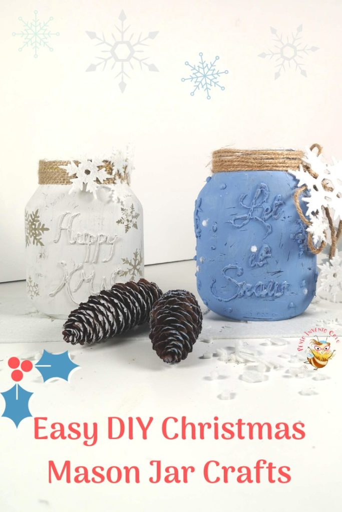 Easy DIY Christmas Mason Jar Crafts