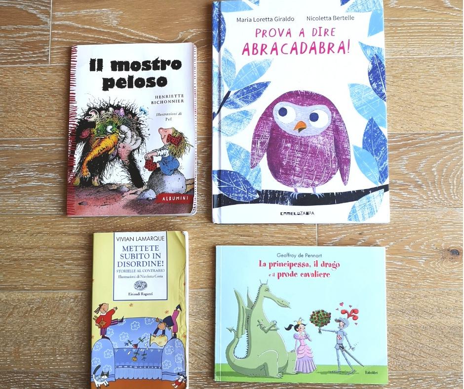 4 libri per bambin da 3 a 6 anni in su che fanno ridere