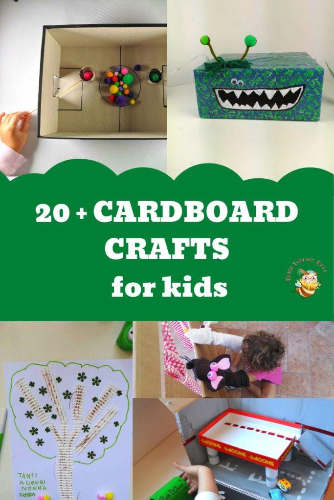 CARDBOARD CRAFTS DIY for kids