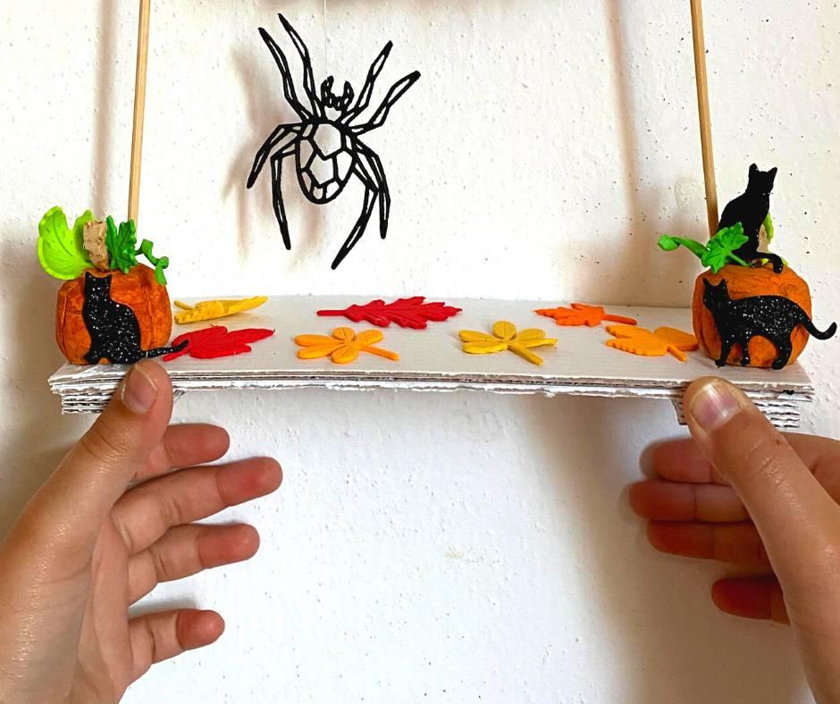 festone halloween mini - la base di cartone