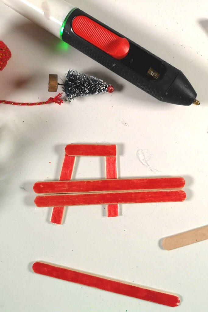 amioncino rosso - decorazione albero di natale (1)