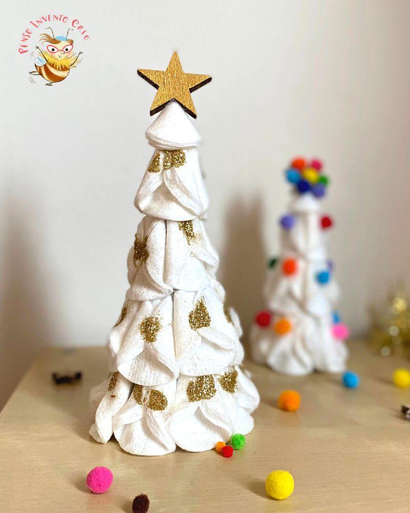albero glitter con dischetti struccanti
